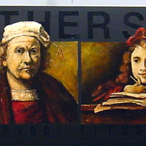 Rembrandt & Titus - Father & Son 30x120 construction